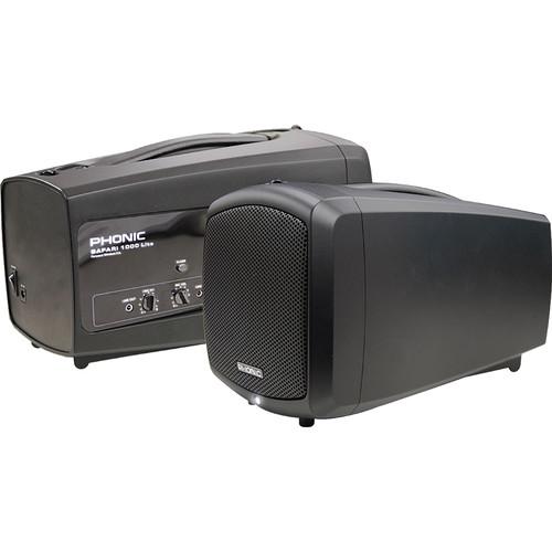 Phonic Safari 1000 Lite 50W Portable PA System
