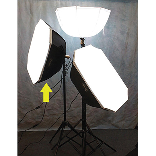 Photek Brella Box Square Kit with Stand (Black/Silver)