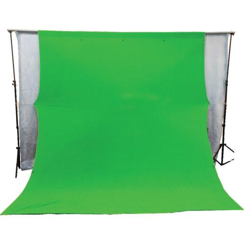 Photek GS12 Green Screen Background (9 x 11.8', Chroma Key Green)