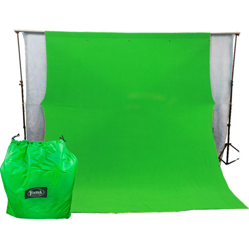 Photek GS12 Green Screen Background (10 x 24', Chroma Key Green)