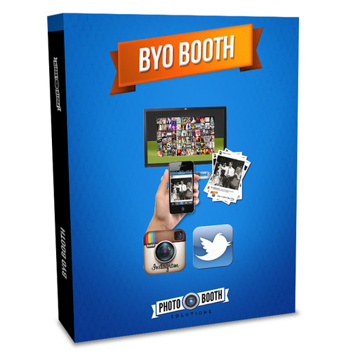 Photo Booth Solutions BYO Booth - Instagram & Twitter Hashtag Printing & Slideshow Software