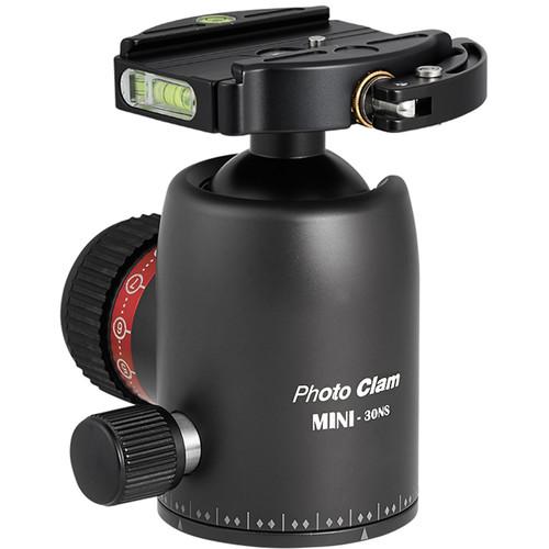 Photo Clam Pro Mini 30NS with Lever-Lock Quick Release (Black)