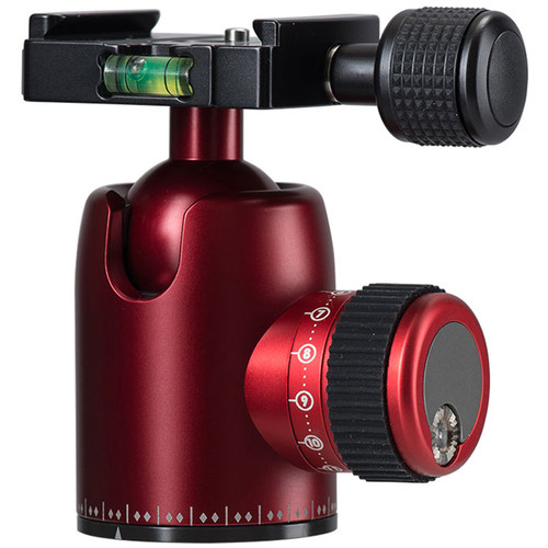 Photo Clam Pro Mini 30NS with Screw Knob Clamp (Red)