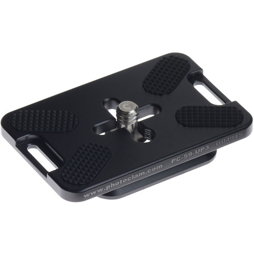 Photo Clam PC-59-UP3 Universal Camera Plate for Small DSLRs