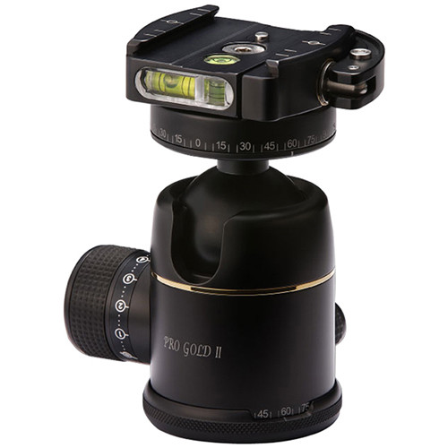 Photo Clam Pro Gold II PQRS Ball Head with Screw-Knob Clamp
