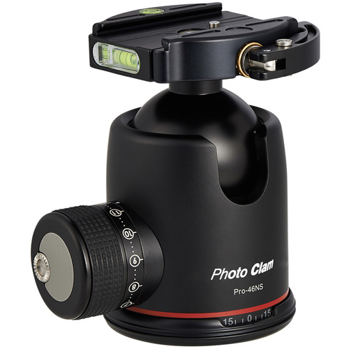 Photo Clam Pro 46NS Ball Head with Lever-Lock Quick Release (Black)