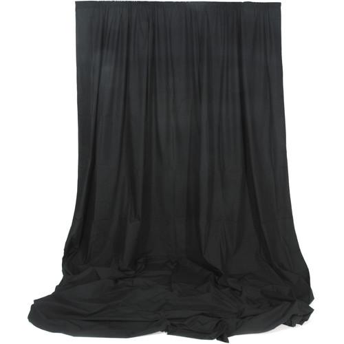 Photoflex Muslin Backdrop (Black, 10 x 20')