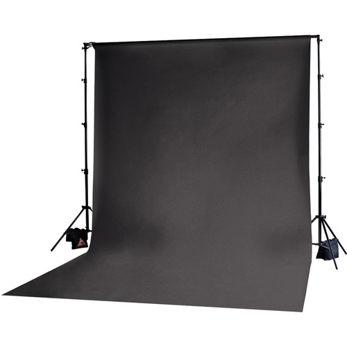Photoflex Muslin Backdrop (Black, 10x12')