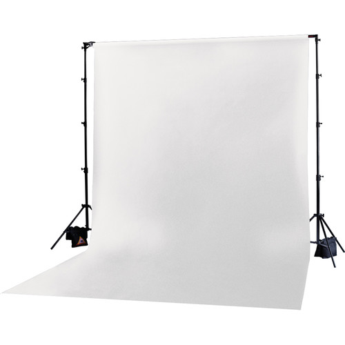 Photoflex Muslin Backdrop (White, 10 x 20')