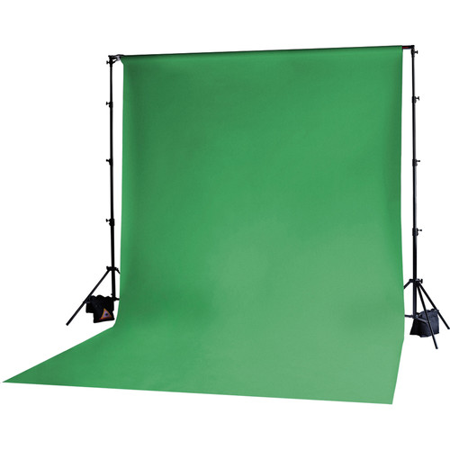 Photoflex Muslin Backdrop (10x20', Chroma Key Green)