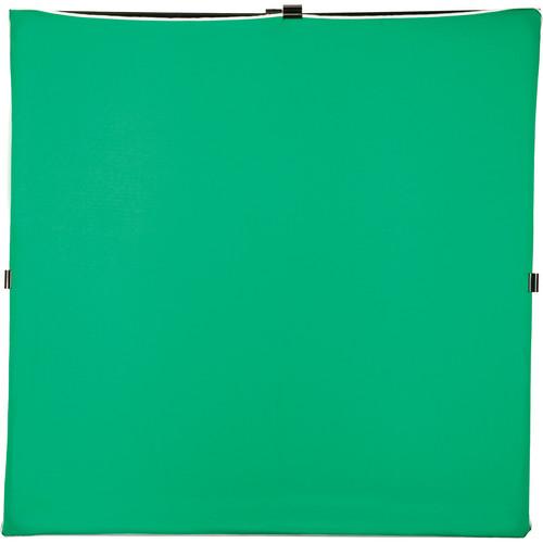 "Photoflex LitePanel 77 x 77"" ChromaKey Fabric (Green)"