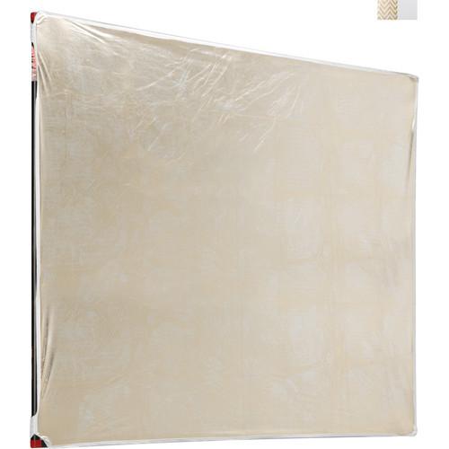 "Photoflex LitePanel White/Soft Gold Fabric Reflector (77 x 77"")"