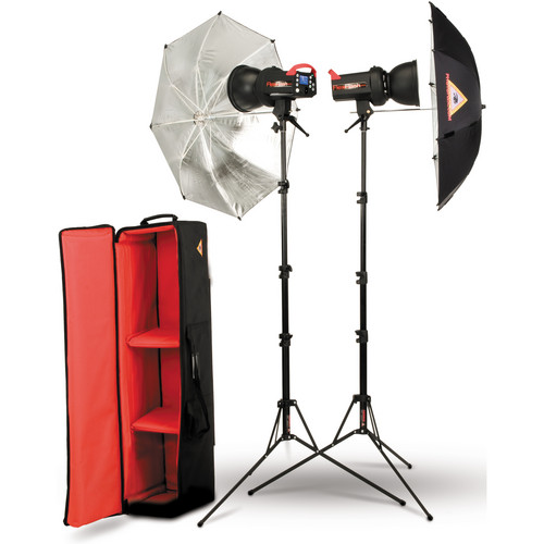 Photoflex FlexFlash 200W Strobe Umbrella Kit