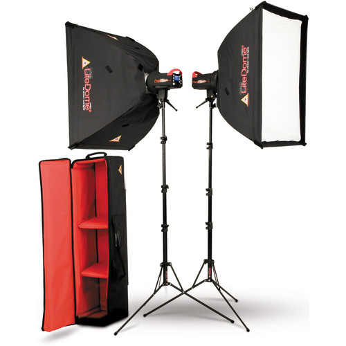 Photoflex SK-FF200DMXTB FlexFlash 200W Strobe Light Kit