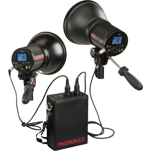 Photoflex Dual TritonFlash Battery Powered Strobe Kit