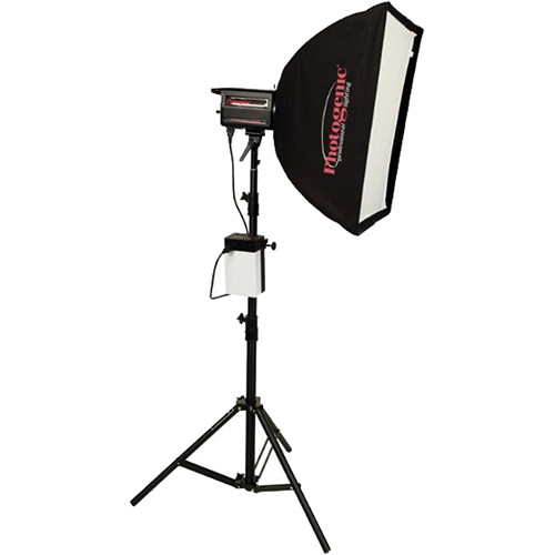 Photogenic ION Inverter with PL1250DRC 500W/s Flash Head Softbox Kit