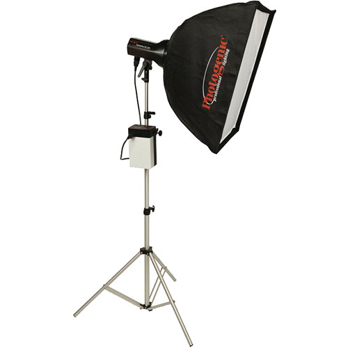 Photogenic ION Inverter with StudioMax 320W/s Flash Head and Softbox Kit