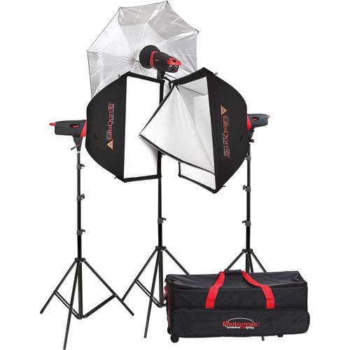 Photogenic Matrix MCD400R 400Ws Monolight 3-Light Kit