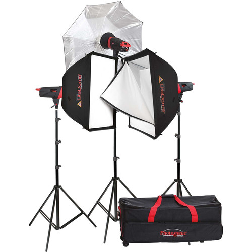 Photogenic Matrix MCD400R 400Ws Monolight 3-Light Kit