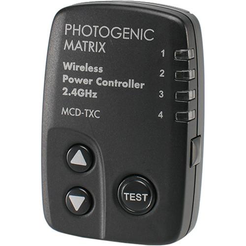 Photogenic MCDTXC 16-Channel Digital Wireless Transmitter with Power Controller for Matrix MCD400R Monolight