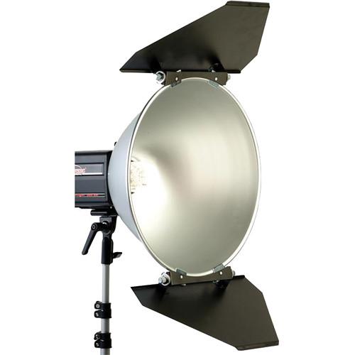"Photogenic 2-Way Trapezoid Barndoors for PL20R 20"" Reflector"