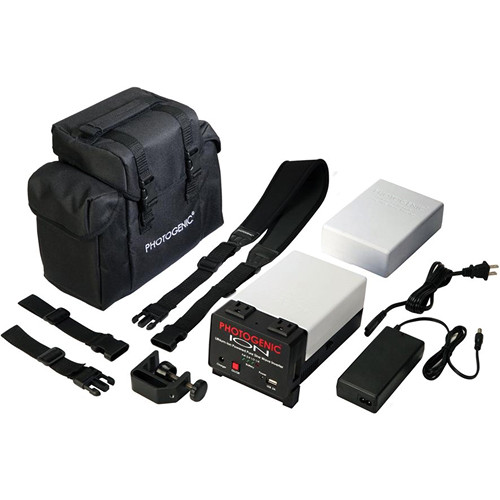 Photogenic ION Lithium-ion Pure Sine Wave Inverter System with Spare Battery and Case
