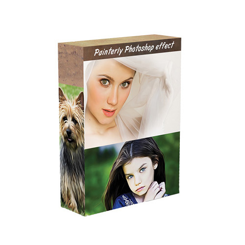 Photographers Photoshop Painterly/Airbrushed Photoshop Effect (Download)