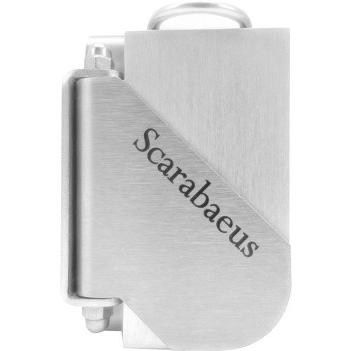 PhotoScarab Scarabaeus Premium Camera Holster System (Classic Silver)