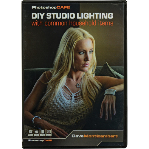PhotoshopCAFE DVD-ROM: DIY Studio Light with Common Household Items