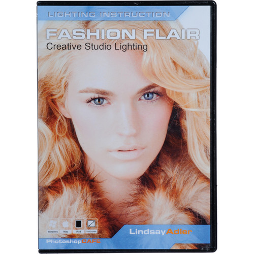 PhotoshopCAFE Training DVD: Fashion Flair Creative Studio Lighting