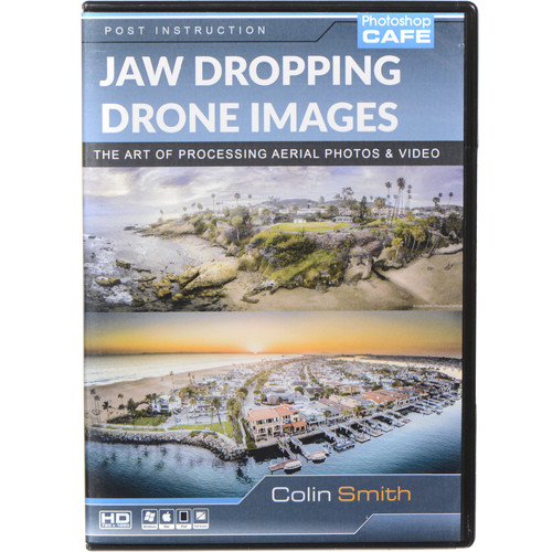 PhotoshopCAFE DVD-ROM: Beautiful Drone Images, Aerial Photography & Video Post-Production