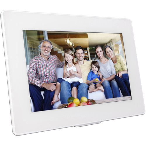 """PhotoSpring 10.1"""" Digital Frame with 80GB Built-In Memory"""