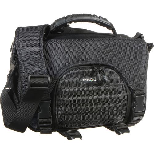 Phototools DSLR Camera Gadget Bag (Black)
