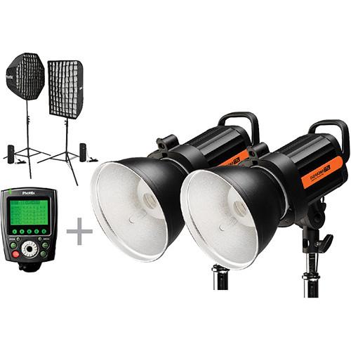 Phottix Indra360 TTL Next Level 2-Light Kit for Nikon