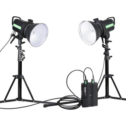 Phottix Indra500 TTL 2-Monolight Kit with Battery Pack