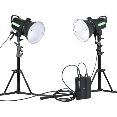 Phottix Indra500 TTL 2-Monolight Kit with Battery Pack