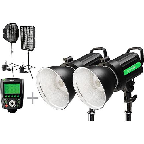 Phottix Indra500 TTL GameChanger 2-Light Kit for Canon
