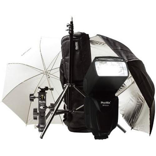 Phottix PH80374 Mitros+ TTL Transceiver Flash Kit for Nikon Cameras