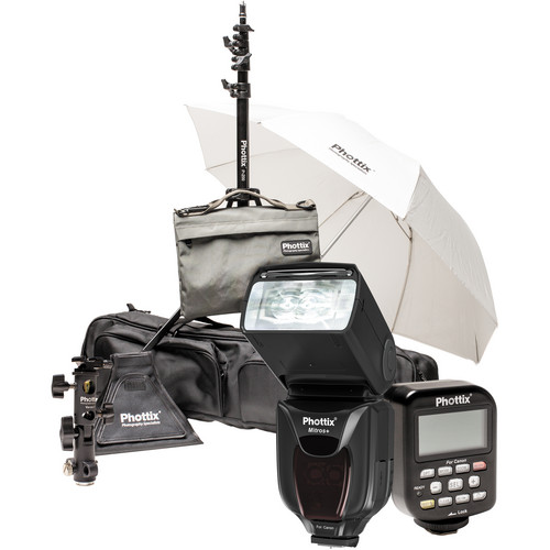 Phottix Scott Kelby Mitros+ TTL Flash and Odin TCU TTL Flash Trigger Kit for Canon