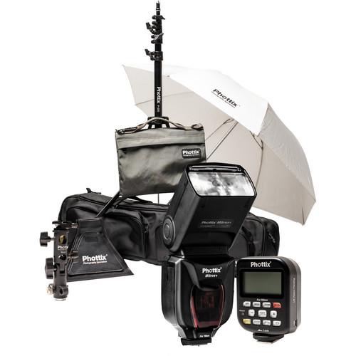 Phottix Scott Kelby Mitros+ TTL Flash and Odin TCU TTL Flash Trigger Kit for Nikon
