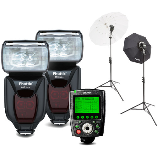 Phottix Mitros+ Portrait Anywhere 2 Kit for Nikon