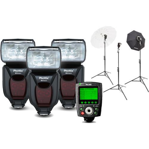 Phottix Mitros+ Portrait Anywhere 3 Kit for Canon