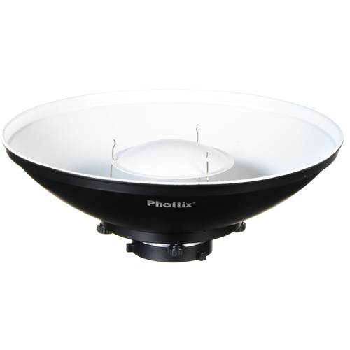 "Phottix Pro Beauty Dish MK II with Bowens Speed Ring (16"")"