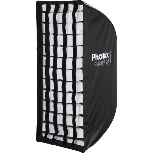 "Phottix Easy Up HD Umbrella Softbox with Grid (16 x 35"")"