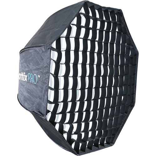 "Phottix Easy-Up HD Umbrella Octa Softbox with Grid and Varos Pro S Combo Kit (32"")"