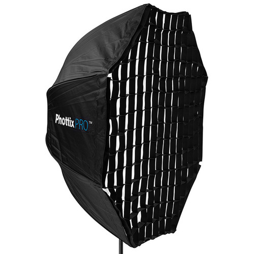 "Phottix Easy Up HD Umbrella Extra Large Octa Softbox with Grid (47"")"
