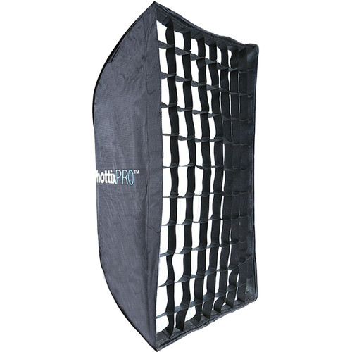 "Phottix Easy-Up HD Umbrella Softbox with Grid and Varos Pro S Combo Kit (24x35"")"