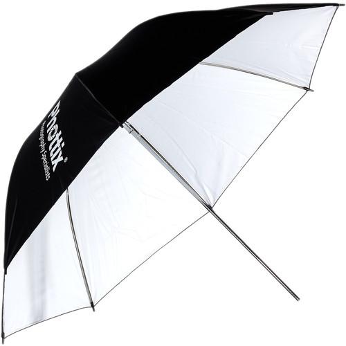 """Phottix Reflector 40"""" Studio Umbrella (White/Black)"""