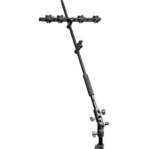 "Phottix Multi Boom Flash Bracket, Boom Arm and Varos II BG Combo (28"")"