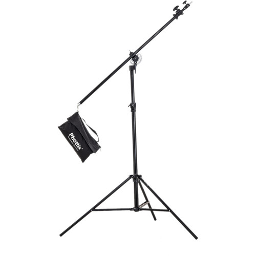 "Phottix Photo Studio Video Boom Stand with Sandbag (156"")"